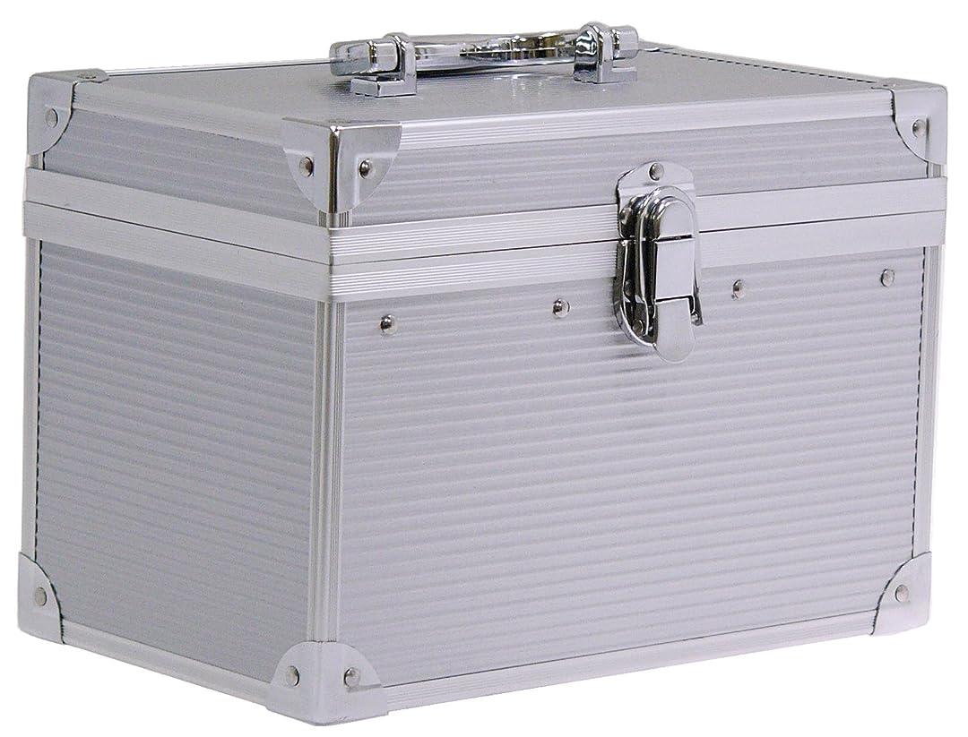 迷路スペル物理学者本物の質感 アルミ横型BOX
