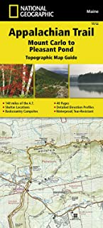 Appalachian Trail, Mount Carlo to Pleasant Pond [Maine] (National Geographic Topographic Map Guide)
