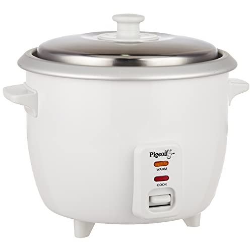 Pigeon by Stovekraft Favourite 94 1-Litre Rice Cooker (White)