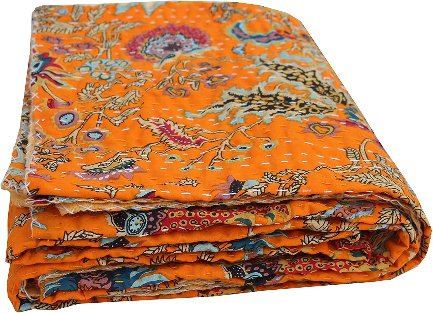 Indian-Shoppers Bohemian Bedding New products world's highest quality popular Décor Size low-pricing Reversibl King Quilt