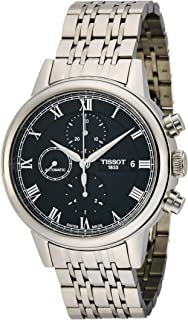 Tissot Carson Watch for Men - Analog, Stainless Steel Band - T0854271105300