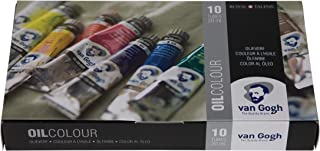 Van Gogh Oil Color Paint, 10x20ml Tubes, Basic Set