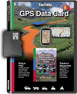 GPS Data Card for Guide to Arizona Backroads & 4-Wheel-Drive Trails 2nd Edition