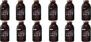 LUV BOX - Variety Starbucks Cold Brew Pack 11oz Glass Bottle, 12 Per Case, Black Sweetened, Vanilla & Fig with Cream