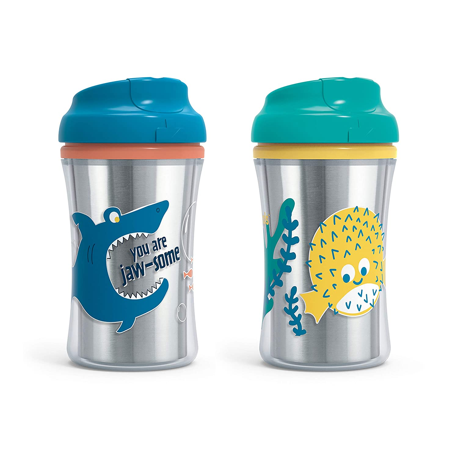 First Essentials 5 ☆ very popular by NUK Fun New Orleans Mall Grips Spout in Assort Cup Sippy Hard