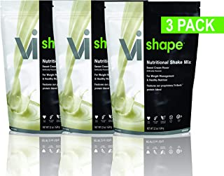 ViSalus Nutritional Shake Mix Sweet Cream Flavor 22 Ounces (3 Bags, 72 Meals)