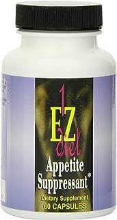 Maximum Intenational 1-EZ Diet, Appetite Suppressant, 60 Capsules