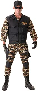 Costumes Men's Seal Team Costume -Deluxe