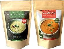 Inner Flame Organic Sambar and Coconut Chutney Combo Pack