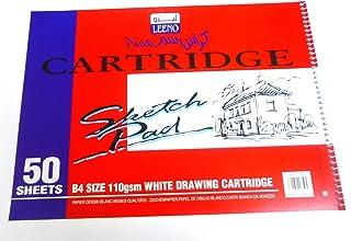 Sketch Book Cartridge B4 Size Spiral 110 gm white paper 50 Sheets