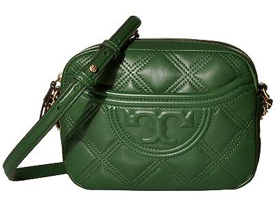 Tory Burch Fleming Soft Camera Bag (Arugula) Handbags