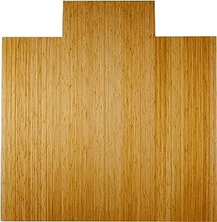 Anji Mountain Real Bamboo Wood Chair Mat, 55 x 57