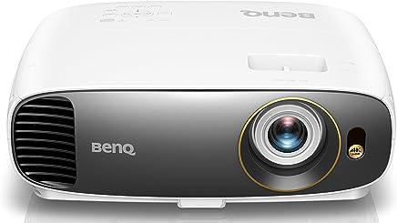 BenQ True 4K UHD HDR CineHome Projector (W1700), Home Cinema, DLP, 8.3 Million Pixels, 2200 Lumens, Rec.709 HDTV Standard, Audiovisual Enhancer, 3D, HDMI, Sleek Design