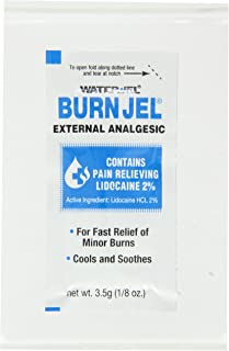 Pac-Kit by First Aid Only 600U-01 Water-Jel Burn Jel, 1/8 oz Foil Packet (Box of 25)