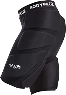 Bodyprox Protective Padded Shorts for Snowboard,Skate and Ski,3D Protection for Hip,Butt..