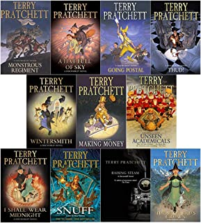 Terry pratchett Discworld novels Series 7 and 8 :11 books collection set