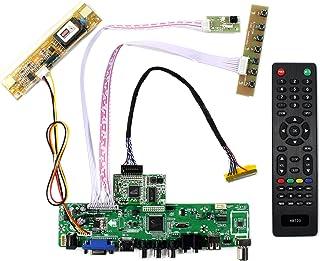 HDMI VGA CVBS USB RF LCD Controller Board for 17'' LM171W02-TLB1 LM171W02-TTA1 LM171W02-A4 LM171W02-A4K2 LM171W02-A4M1 144...