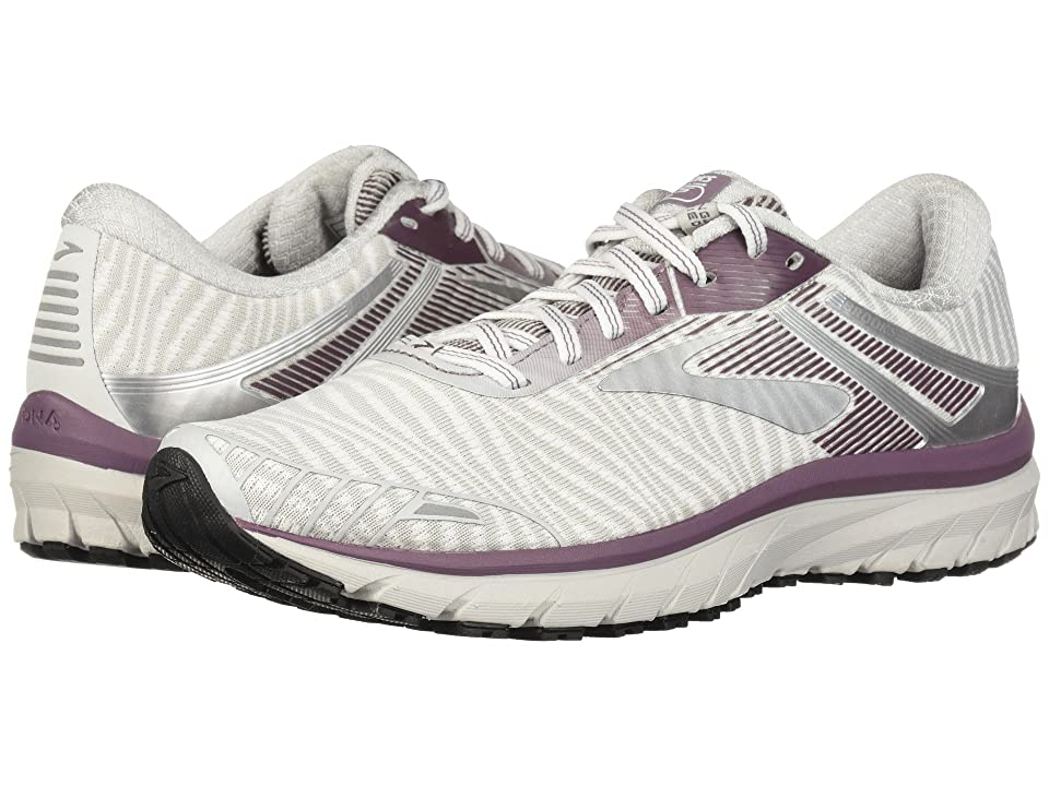 Brooks Adrenaline GTS 18 (White/Purple/Grey) Women