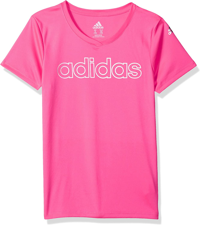 Adidas Big Girls' Short Sleeve Graphic Tee Shirts