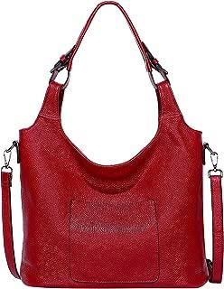 OVER EARTH Purses and Handbags for Women Soft Leather Shoulder Hobo Bag Ladies Crossbody Bag
