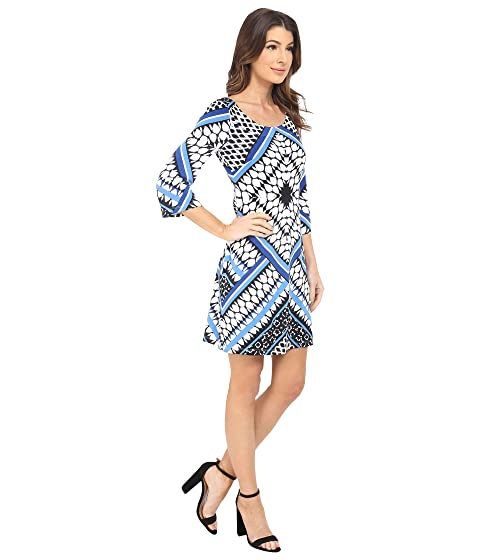 Free Shipping Cheap Online Jessica Simpson Printed Ity Shift Dress Blue Print Clearance Sale Buy Cheap Outlet yO0bSBnmr