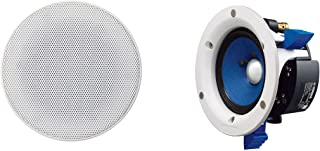 Yamaha in-Ceiling Speakers with 4 inch Woofer - NSIC400W (White)