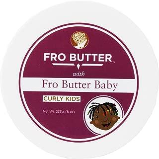 Fro Butter Hair Growth Treatment | Shea Butter, Virgin Coconut & Lavender Oil, Pumpkin Seeds & Nourishing Extracts | For Fast Hair Restoration, Split Ends, Damaged & Brittle Hair (Baby Hair Detangler)