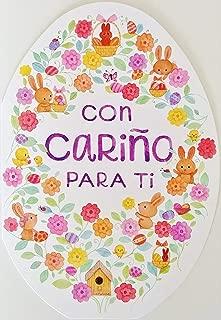 Con Carino Para Ti - Feliz Pascua Happy Easter Greeting Card in Spanish -