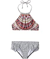 Billabong Kids - Boho Babe High Neck Set (Little Kids/Big Kids)