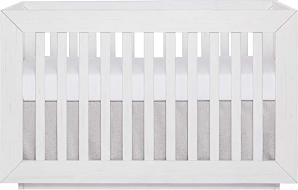 Evolur Maddox Modern Crib Weathered White