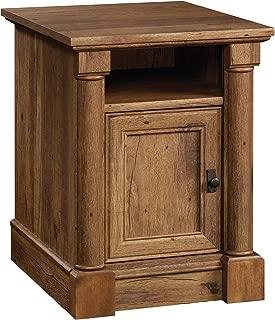 Sauder Palladia Side Table, Vintage Oak finish