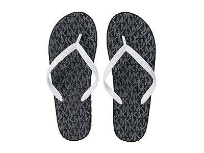 MICHAEL Michael Kors Joey Flip-Flop (Black) Women