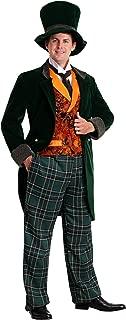 Men's Alice in Wonderland Mad Hatter Costume Deluxe Plus Size Mad Hatter Costume