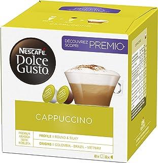 Nescafé Dolce Gusto Cappuccino - Café Gourmand - 96 Capsules (6 boîtes x 16)