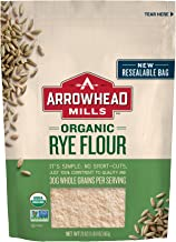 Arrowhead Mills Organic Rye Flour, 20 oz. Bag (Pack of 6)