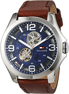 Tommy Hilfiger 1791278 Men's Stainless Steel Automatic-self-wind Movement Watch