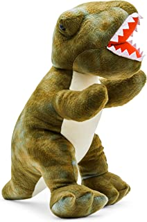Plush Creations Realistic Dinosaur for Kids & Toddlers   Giant Stuffed Wild Animals to Explore The Jurassic World   Ideal Fuzzy Dino Toys Birthday & Christmas Gift for Boys (Trex, 24