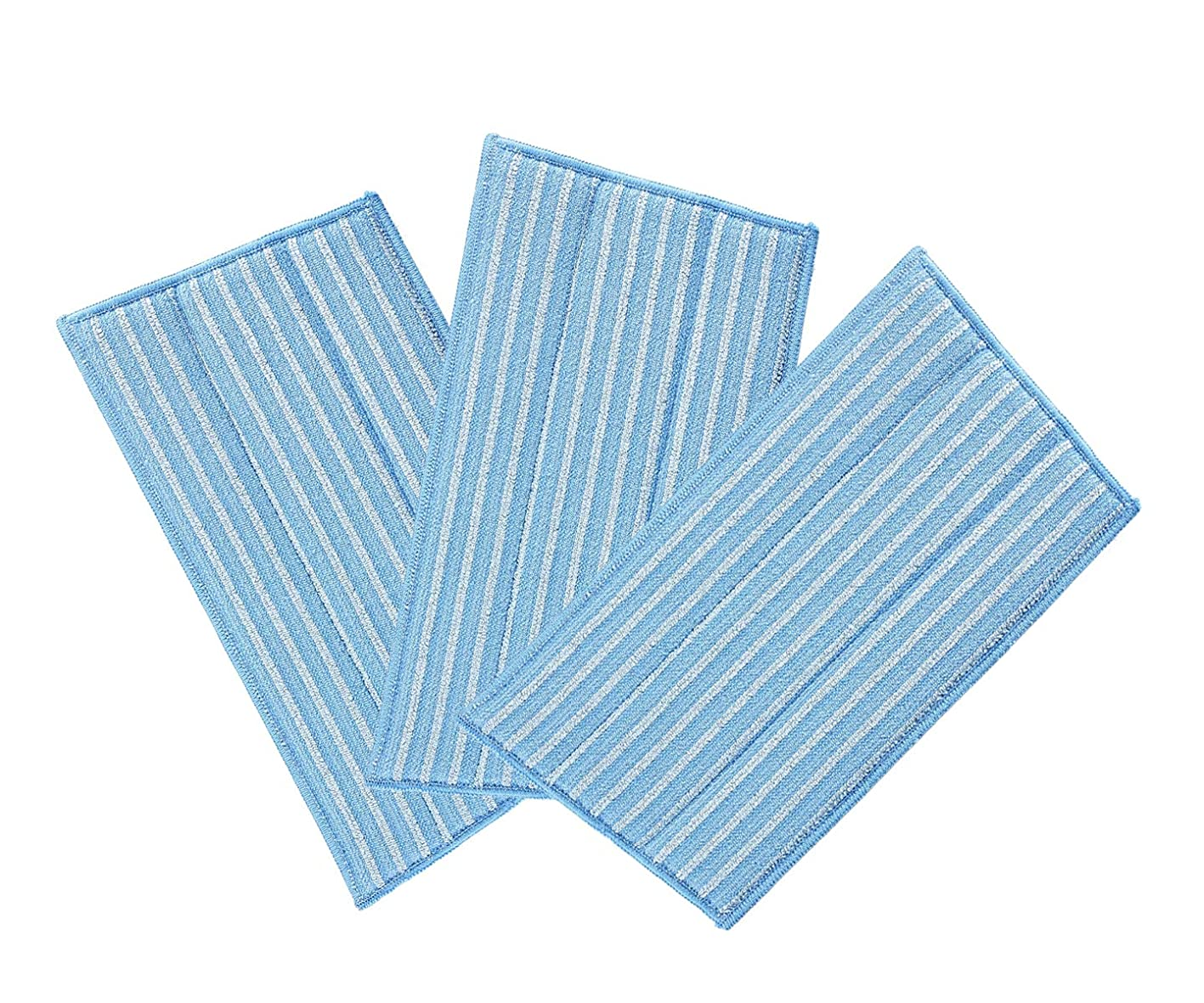 EZCARRIER Washable Steam Mop Pads Replacement for Haan Floor Steamer FS SI and MS Series SI-40 SI-70 SI-35 (Pack of 3) tulfpyuexqf278