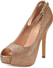 DREAM PAIRS Women's Swan-10 High Heel Plaform Dress Pump Shoes