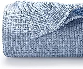 Best cotton blanket blue Reviews