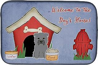 BIRSY BB2813DDM Dish Drying Mat, Dog House 20x32(IN)