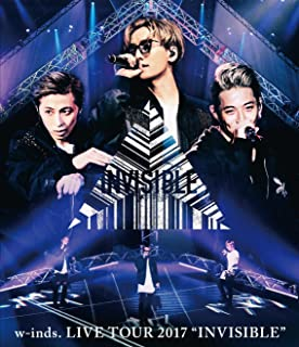 """w-inds. LIVE TOUR 2017 """"INVISIBLE""""通常盤Blu-ray"""