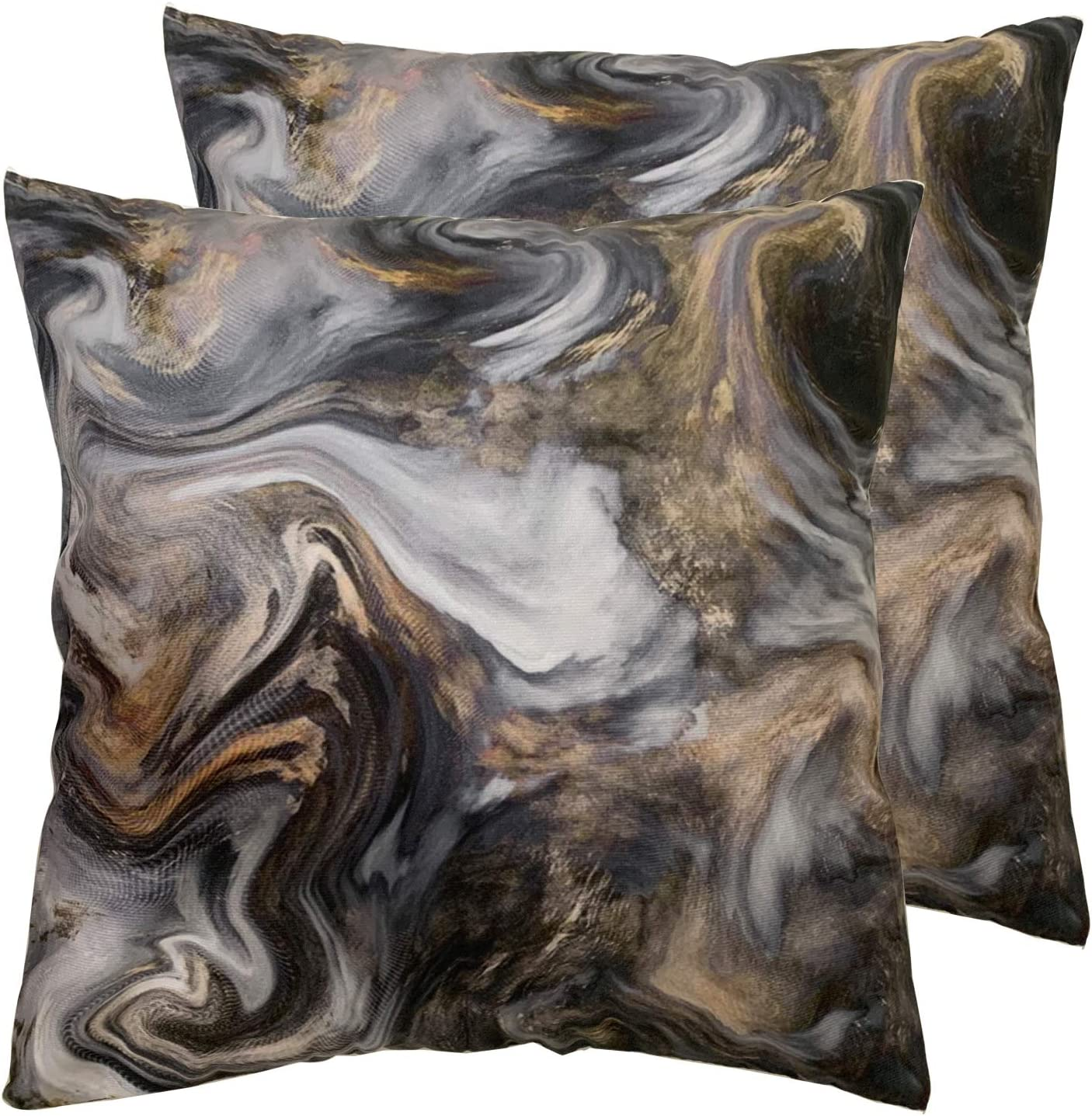 Set of 2 Square Max 65% OFF 18X18 inch Throw Women Men Sho Pillow Beauty products for Cover
