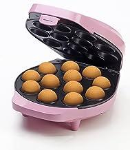 Bestron cakepopmaker, met cake-pop stokjes, vork en receptenboek, antiaanbaklaag, 700W, roze