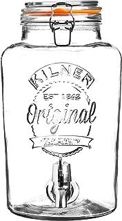 Kilner Clip Top Round Drinks Dispenser, 8 Litre