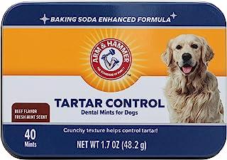 Arm & Hammer Dog Dental Care Tartar Control Dental Mints for Dogs | Reduces Plaque..
