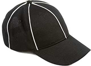 Murray Sporting Goods Referee Hat Black with White, No Color, Size No Size