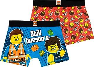 LEGO Movie Ropa Interior Paquete de 2 para niños