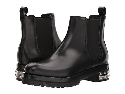 Alexander McQueen Mod Boot (Black/Black) Women