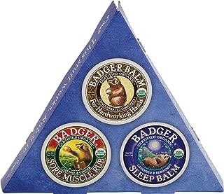 Badger Balm Mini Sampler Set - 3 Pack